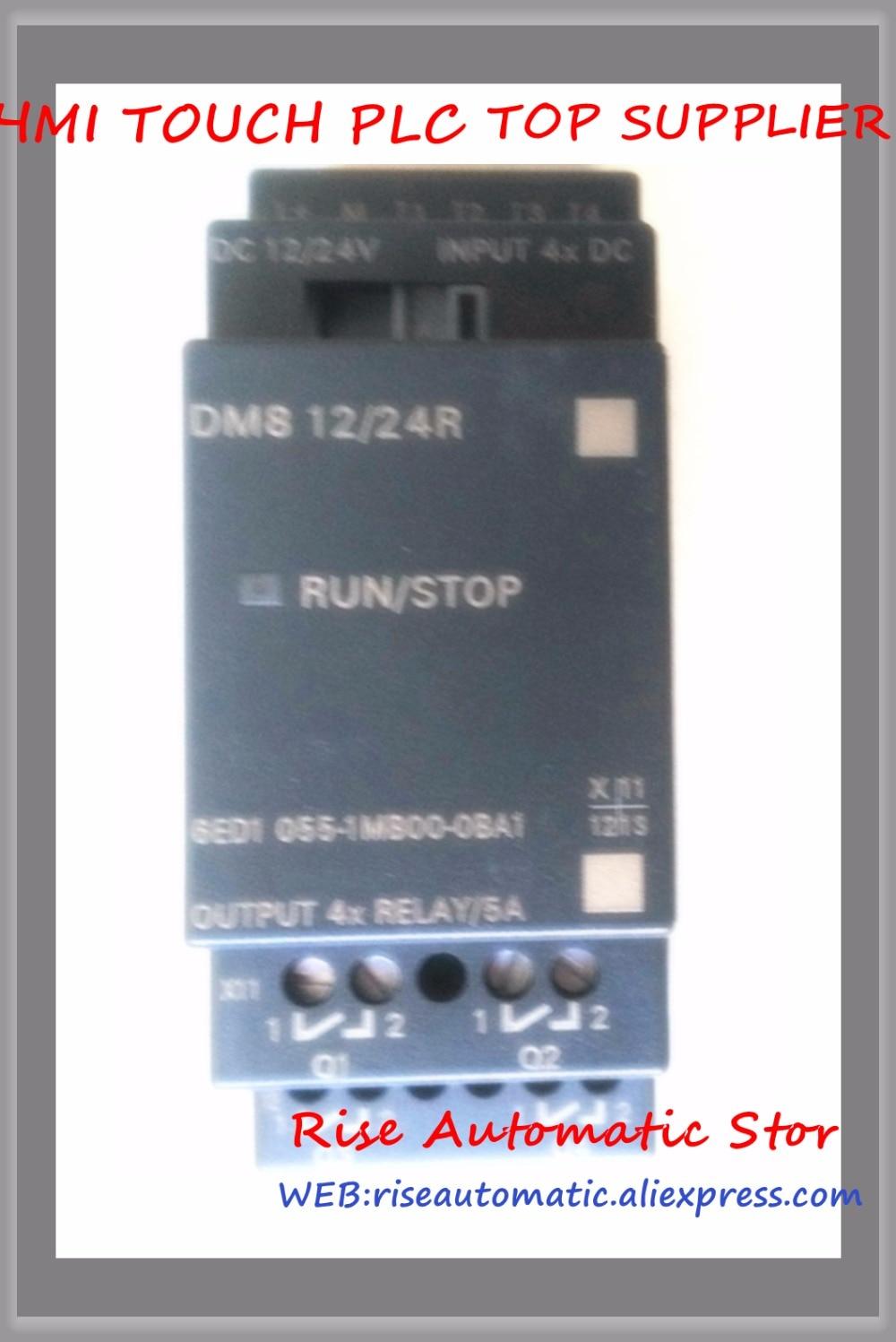 Original 6ED1055-1MB00-0BA1 LOGO! DM8 12/24R Expansion Module 4 DI/4 DO 6ED1 055-1MB00-0BA1 6ED10551MB000BA1