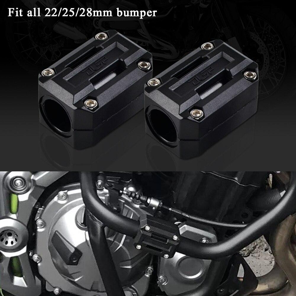 Protection universelle contre les chocs   22/25/28mm, protection pour pare-choc du bloc, pour Honda Africa Twin CRF1000L NC700X VFR1200X Crosstourer Etc