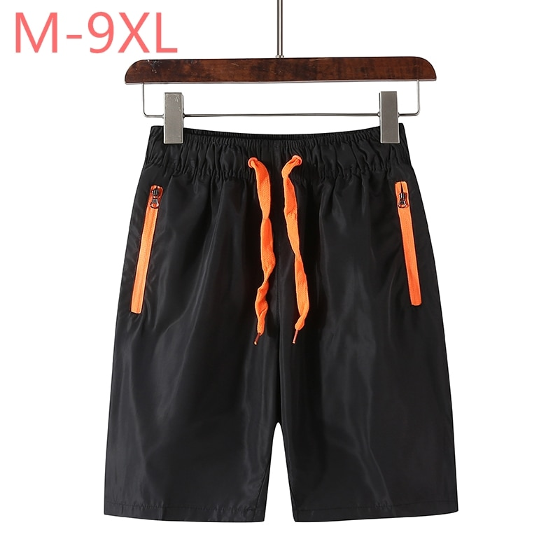 De talla grande M ~ 7XL 8XL 9XL nuevos pantalones cortos de verano para hombres homme playa ajustado bermuda masculina joggers prendas de vestir pantalones casuales Hombre Pantalones cortos