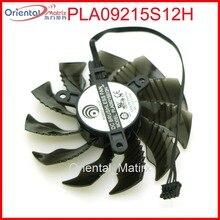 Livraison gratuite PLA09215S12H 12 V 0.55A 86mm 4Pin pour Gigabyte GTX970 GTX960 mini-itx carte graphique VGA refroidisseur ventilateur