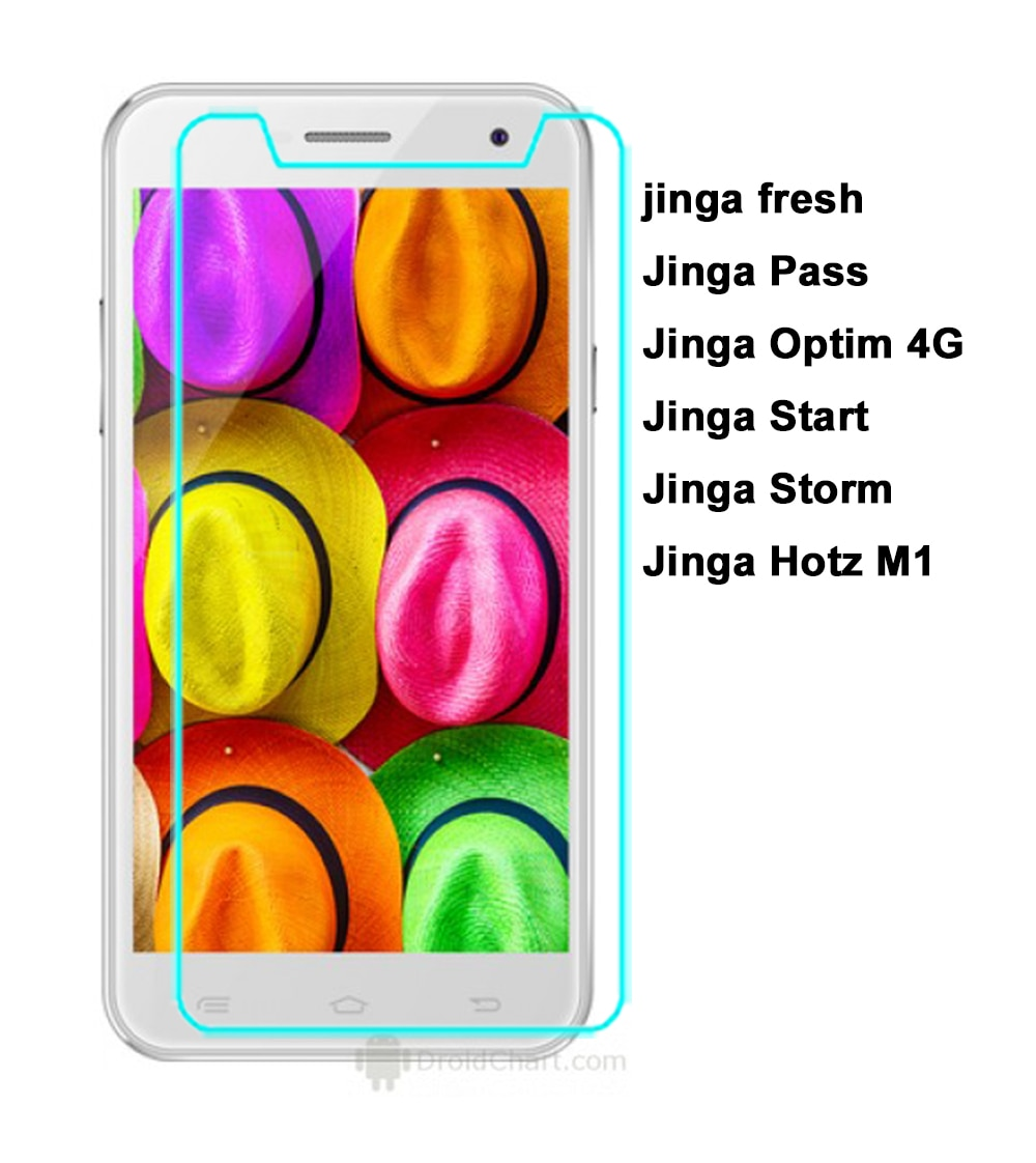Закаленное стекло для Jinga Fresh 4G Защитная пленка для Jinga Fresh Pass Optim Hotz M1 4G Start Storm Защитная стеклянная пленка