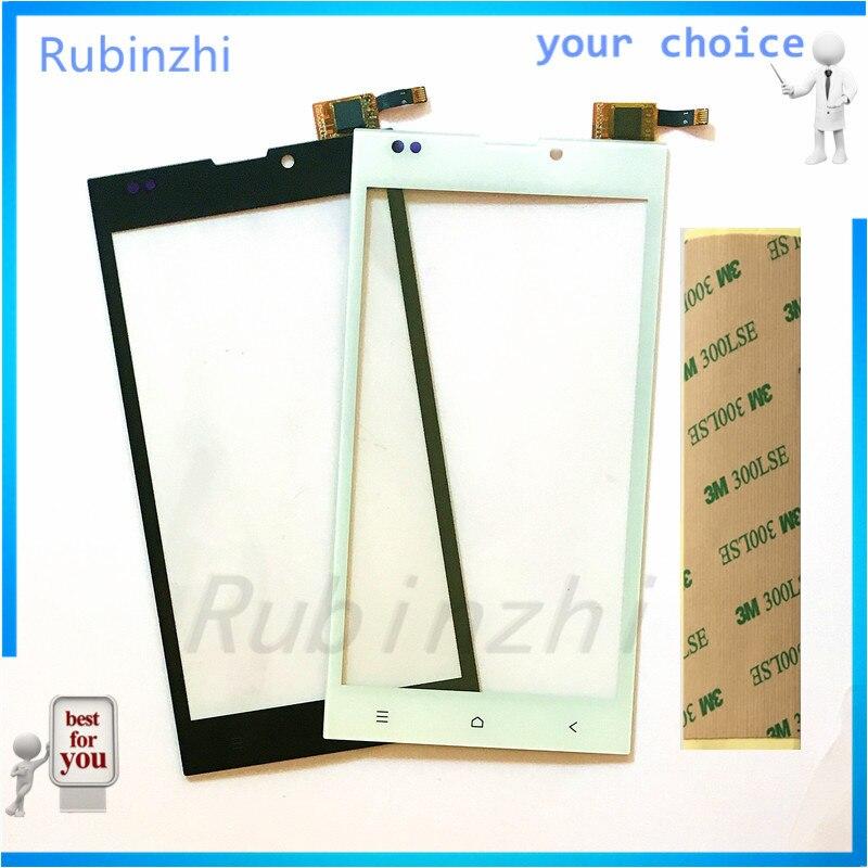 Сенсорный датчик для телефона RUBINZHI, для DEXP Ixion EL150 EL 150, сенсорная панель, объектив, сенсорный экран, дигитайзер, сенсорный экран с лентой