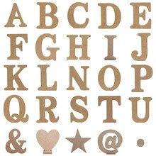 1pc 10X10CM Houten Art Craft Engels Letters Alfabet Woord Vrijstaande Bruiloft Hart Home Decor Gepersonaliseerde naam Ontwerp