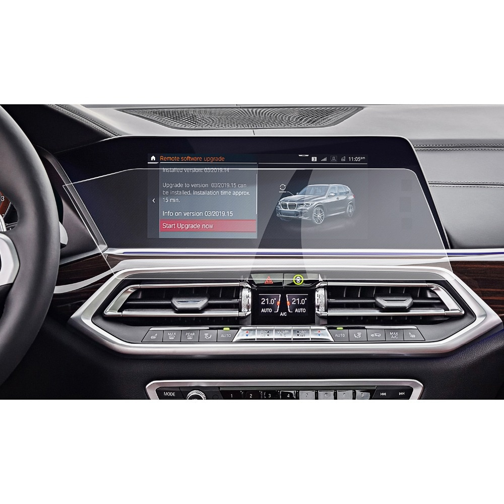 Защитная пленка RUIYA для автомобиля X5 G05/X7 G07, 2019, 2020, 12,3 дюйма, сенсорный экран для левого руля, навигатора, салона автомобиля