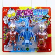 Modell der Flugzeuge kinder Ottomane Spielzeug Universum Superman Anzug Roboter Action-figuren Garage Kit Ultraman Taro Schlacht Tiga Spielzeug