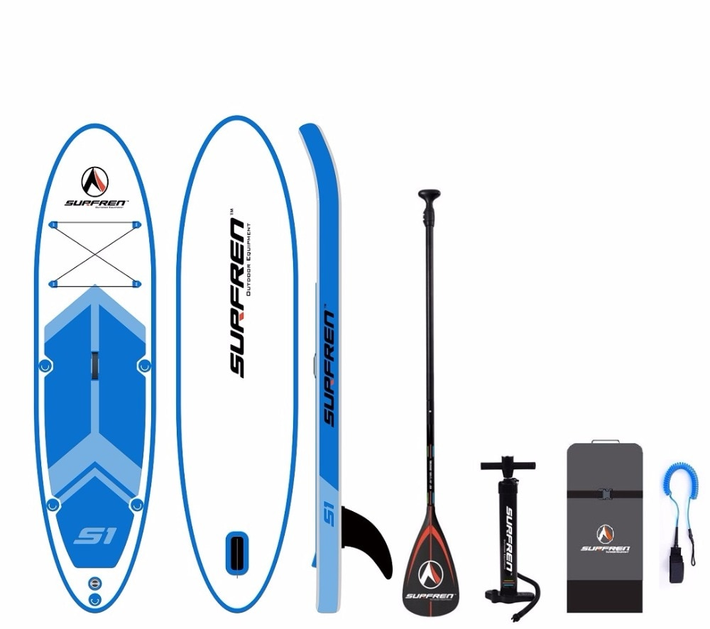Inflatable Surf Stand Up SUP paddle board iSUP Surfing Paddleboard SURFREN All Round S1 wakeboard bodyboard kayakboat