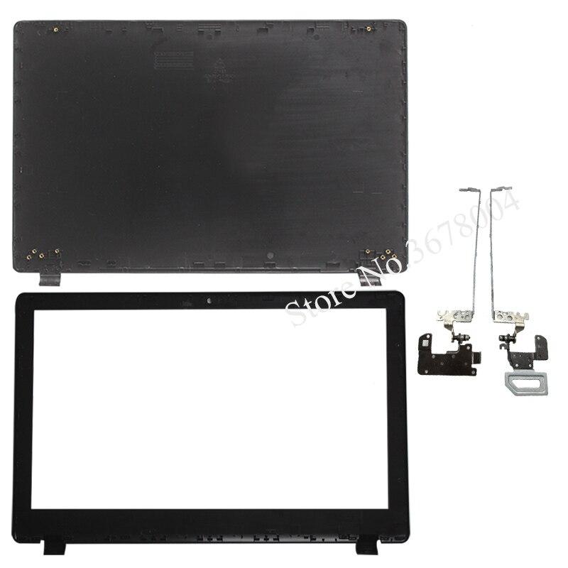 Nuevo para ACER V3-572 V3-572G V3-532 M5-551 tapa superior de LCD/LCD cubierta de bisel/LCD bisagras L & R
