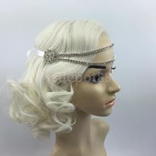 Serre-tête Vintage 1920s   Fascinateurs, chaîne à clapet, bandeau pour les cheveux, Gatsby fantaisie, bandeau pour coiffure