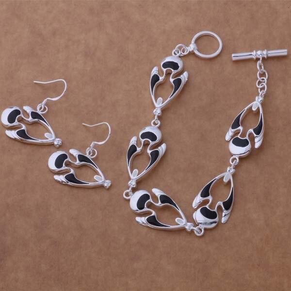 AS358 conjuntos de joyas de plata de ley 500 + pulsera 207 /aocajfja aupajlwa