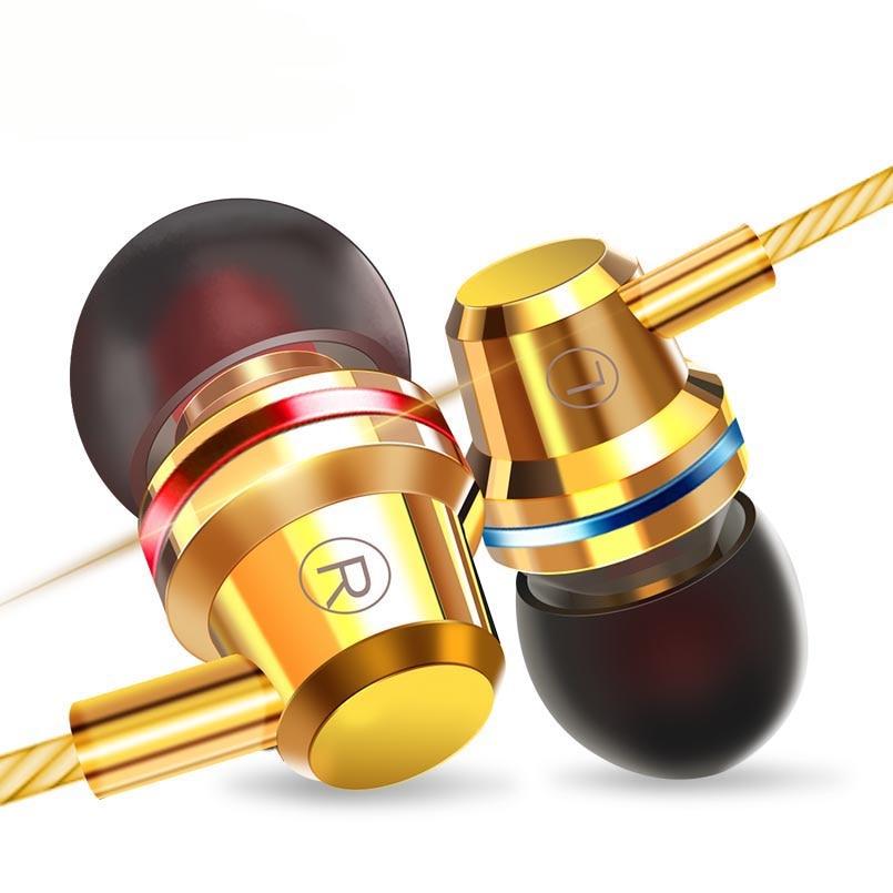 Profissional fones de Ouvido de Metal Fone de Ouvido fone de Ouvido Fones de Ouvido de Música Baixo Pesado Para Amoi N828 Telefone Fone De Ouvido