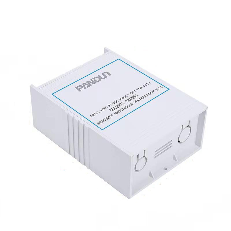 Caja De Alimentación regulada PANDUN para cámara de seguridad CCTV, vigilancia de seguridad, caja resistente al agua
