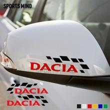 1 par para Renault Dacia Duster Logan Lodgy Dokker Stepway GT Auto Accesorios Estilo de coche coches calcomanía