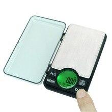 Precisie 600G/0.01G Digitale Pocket Schaal Mini Sieraden Elektronische Balanza 0.01 Gram Poeder Coin Balance Wegen Lcd back-Lit