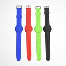 10pcs 125Khz RFID EM4305 t5577 Waterproof Proximity Rewritable Smart Adjustable Wristband Bracelet ID Card