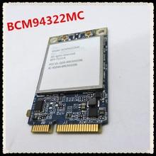 For APPLE Broadcom BCM94322MC 4322 AGN 2.4&5G 300Mbps Wireless-N Wifi PCI-E Mini Wlan wireless Network Card Support MAC OS