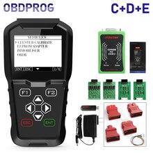 OBDPROG MT601 مبرمج مفتاح السيارة الأميال عداد المسافات تصحيح أداة دبوس قانون القارئ EEPROM OBD2 سيارة التشخيص أداة 4 في 1 PK X100