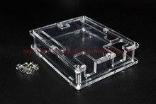 Uno R3 carcasa caja de acrílico transparente funda transparente Compatible con Arduino UNO R3