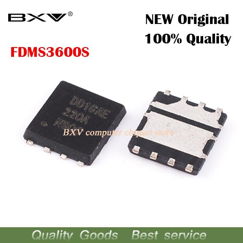 10pcs FDMS3600S FDMS3600 220A 22OA QFN new original laptop chip free shipping