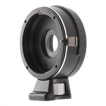 Embutido Abertura Anel Adaptador para Canon EOS EF Lens para SONY E Monte NEX-7 6 NEX-3 NEX-3C NEX-VG10 A6500 A5000 A5100 VG20 FS700