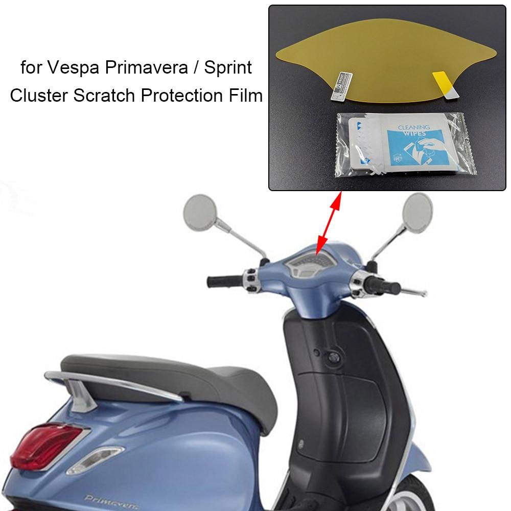 Para Vespa Primavera/Sprint, velocímetro, película de protección contra rayaduras de panel, protector de tablero para Vespa Primavera 150 / Sprint 125