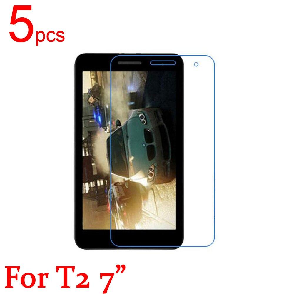 """5 piezas Ultra claro/mate/Nano/anti-explosión Protector de pantalla LCD tapa película para Huawei MediaPad T2 pro 8 """"7"""" 10 """"película dedicada"""