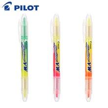 6 pièces/lot japon pilote SVW-15SL en gros marqueur stylo surligneur double pointe papeterie bureau et fournitures scolaires