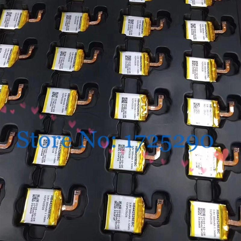 1 unids/lote HB442528EBC 300mAh HB512627ECW batería de 420mAh para el Huawei watch 1 W1 1th ver 2 pro 2Pro + herramientas