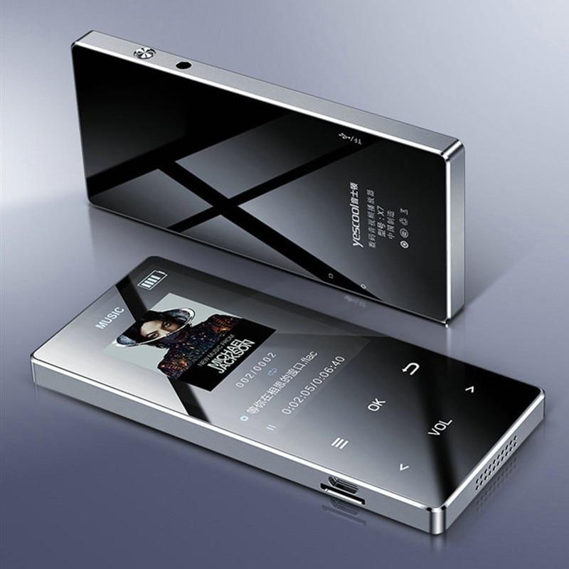 X7 lettore MP3 MP4 car player touch screen fm radio music lecteur recorder 5V USB reproductor Mini sports walkman