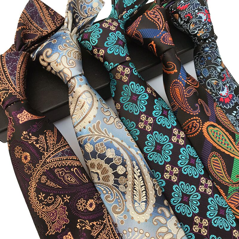 Мужской галстук 2019 жаккард Gravata corbatas para hombre торжественное платье