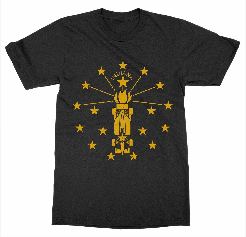 Camiseta de Indiana Torch 500 Estados Unidos de América Patriot Capital Nation