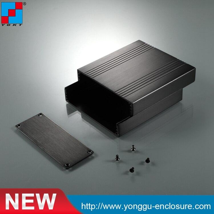 China lieferanten elektronik aluminium extrusion gehäuse profil 106*40-110mm (WxH-D)