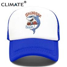 Стильная мужская Кепка-Дальнобойщик с акулой, морской пляж, Акула, командная Кепка, кепка для бокса, серфинга, лета, водителя грузовика, хип-х...
