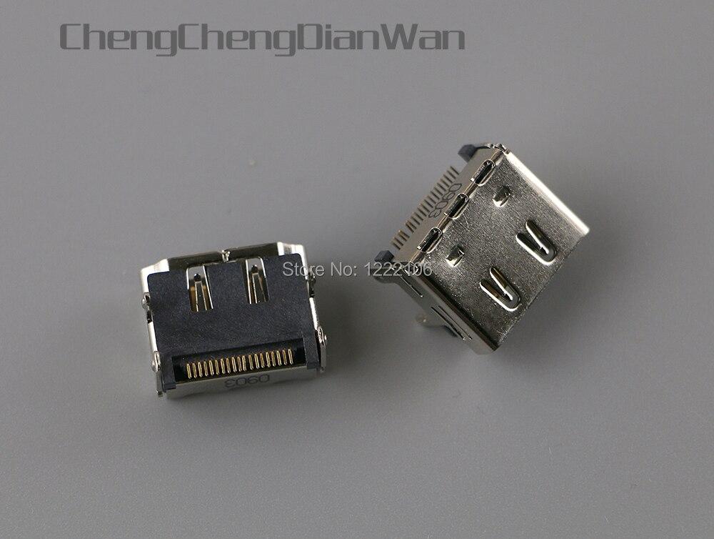 Разъем интерфейса HDMI chengdianwan для XBOX360 Slim, внутренняя Замена