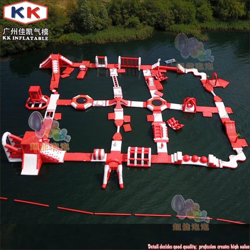 Profesional inflable gigante Aqua aventura épica parque de agua flotante parque para alquiler comercial