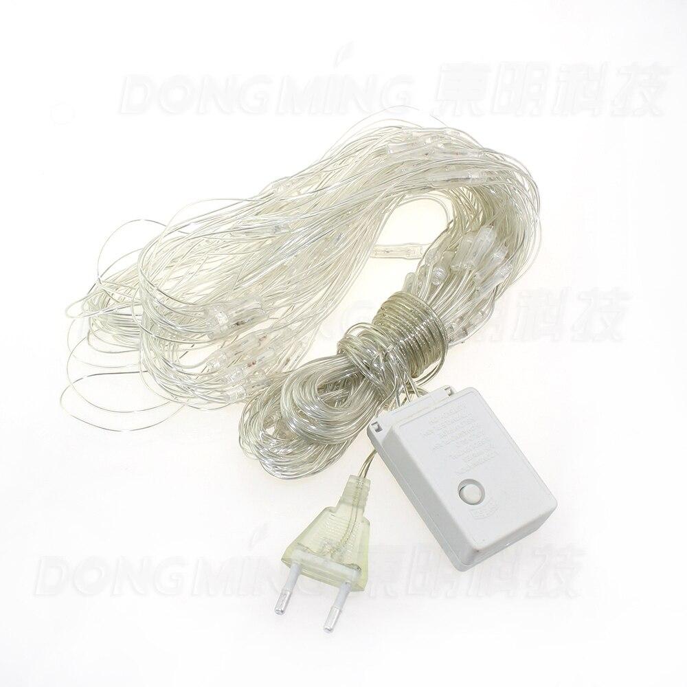 2pcs/lot led christmas string light LED Net Lights 2x2M 210LED 220V EU Plug Outdoor Lighting Home garden LED Curtain Light