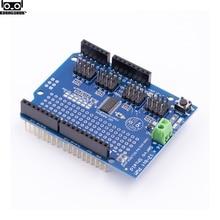 Module de servomoteur bouclier 16 canaux 12 bits PWM I2C interface PCA9685 pour carte Arduino