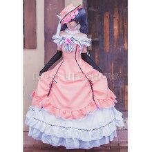 Black Butler Book of the Atlantic Ciel Phantomhive Victorian Dress Cosplay