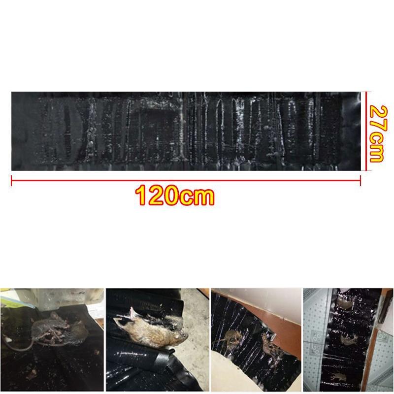 4PCS/Lot 120cm*27cm Mice Trap Non-Toxic Rat Trap Mouse Trapper Glue Board Stricky Mouse Reject Pest Control