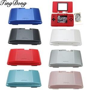 Image 1 - TingDong, 7 цветов, Дополнительная запасная крышка корпуса, чехол, полный комплект для Nintendo DS, игровая консоль NDS