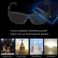 Original Design Sunglasses LCD Polarized Lenses Transmittance Darkness Adjustable Electronic Control Wholesale Drop ship