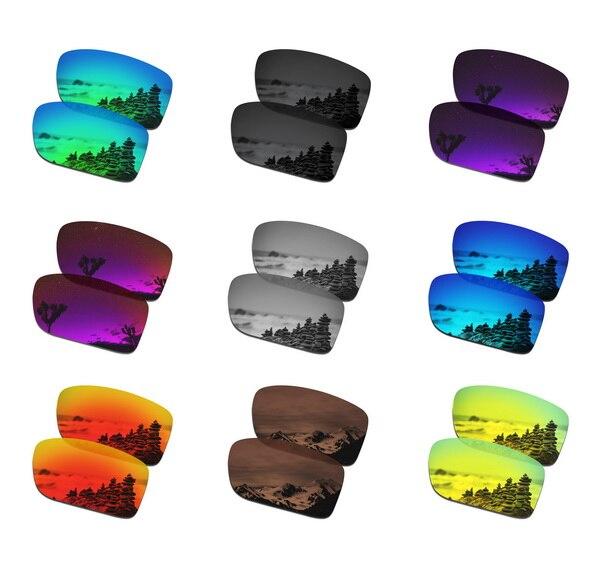 Dropshipping SmartVLT lentes de repuesto polarizadas para gafas de sol de doble filo de Oakley-múltiples pares empaquetados
