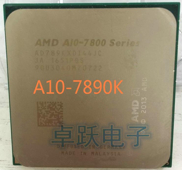 AMD A10-7890K A10 7890K Quad Core 4.1GHZ Socket FM2+ desktops CPU free shipping
