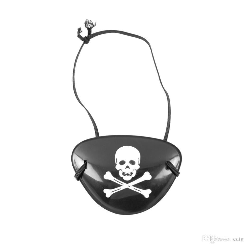 Parche de pirata para ojo de Calavera, Crossbone, bolsa de regalo para fiesta de Halloween, disfraz, juguete para niños, decoración para fiesta de Halloween