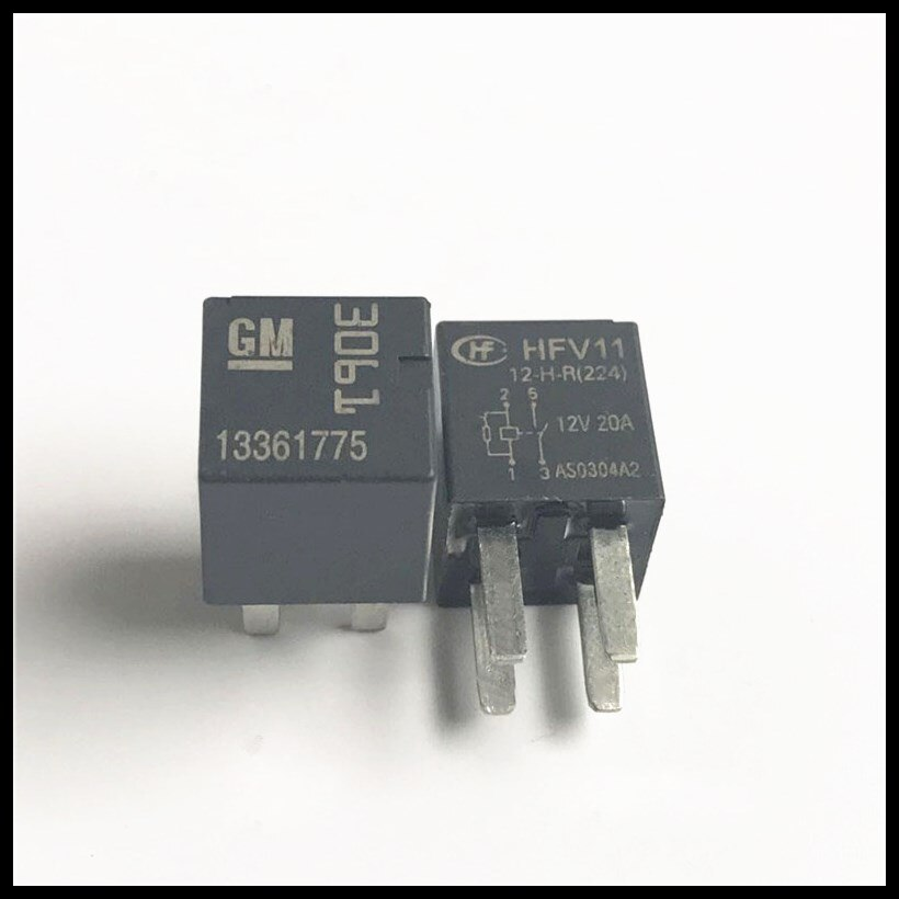 Carro relé HFV11 12-H-R HFV11-12-H-R 12 v 12VDC DC12V 20A 4pin