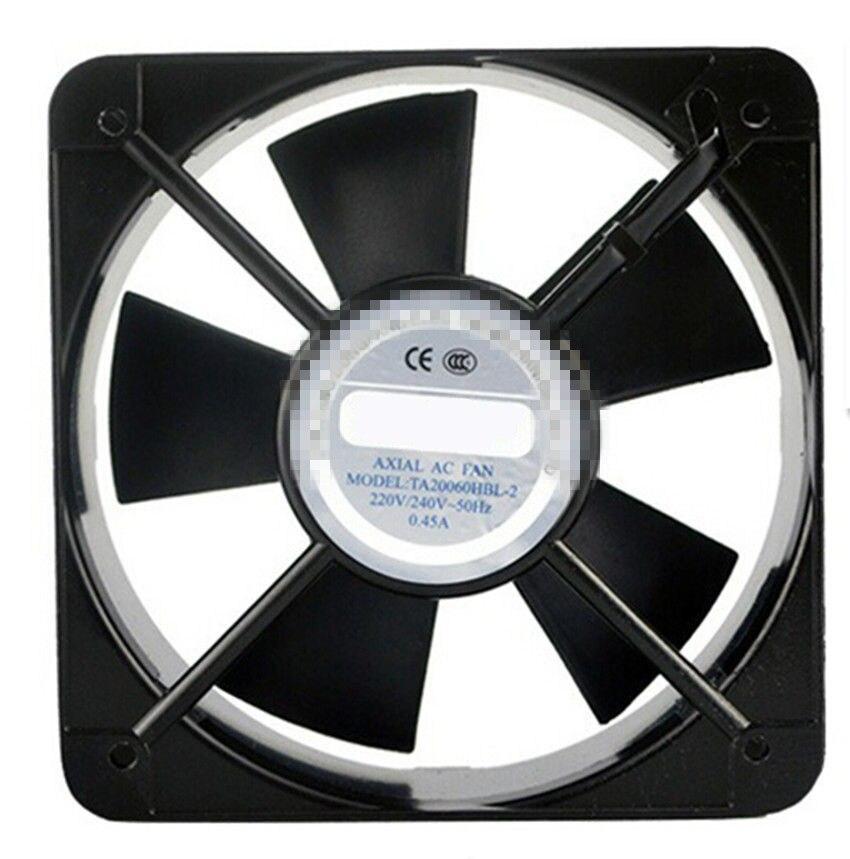 AC محوري مروحة لفائف نحاس TA20060 الصناعية لحام التبريد مروحة 110 V 220 V 380 V مروحة دون ريش