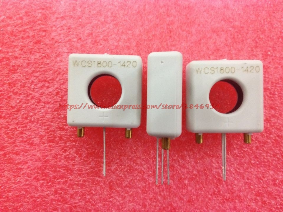 Linearidade do sensor de corrente perfurada wcs1800 60mv/1a