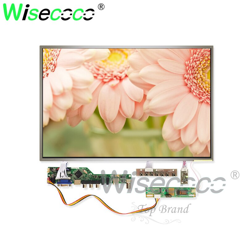12,1 pulgadas TFT LCD 1280 (RGB) * 800 de alta resolución panel HDMI VGA Placa de controlador para Proyecto de bricolaje