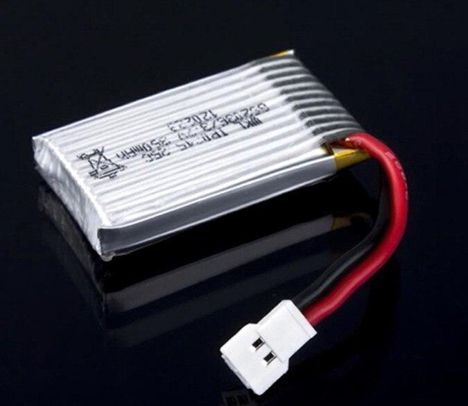 5 unids/lote nuevo 3,7 V 350mAh 25C RC Lipo batería para Walkera V100D03BL 4 #3 4G3 4G6 LAMA2 CB100