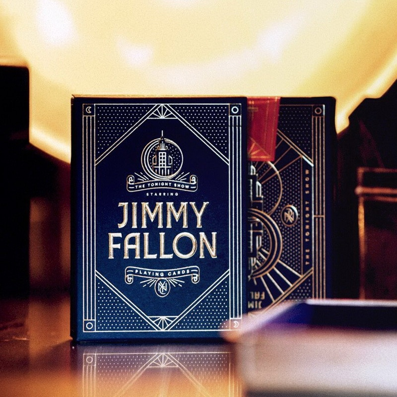 Jimmy Fallon naipes Premium baraja de póquer Theory 11 Deck personalizado inspirado en el tonnight Show actuación de magia accesorios mágicos