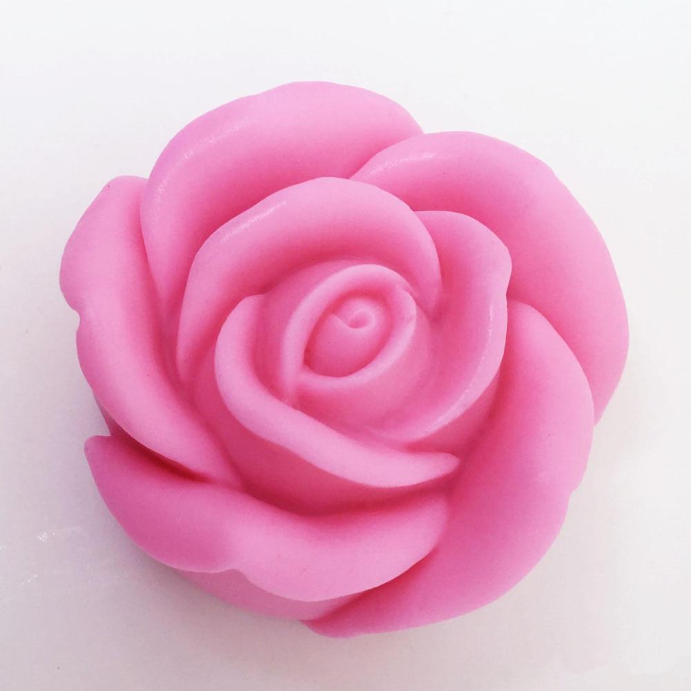 Luyou 3D Роза цветок торта силиконовые формы для помадки инструменты для украшения торта шоколадные Формы для кексов кухонные инструменты для ...